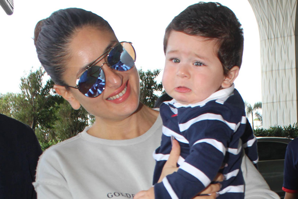 PICS: पपराजी ने बेटे तैमूर की ली तस्वीर तो मम्मी करीना ने दी ये सीख...