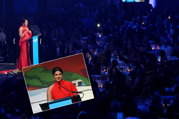 PICS: प्रियंका चोपड़ा को मिला यूनिसेफ का डैनी काये मानवतावादी पुरस्कार