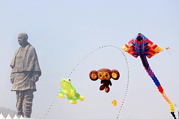 मकर संक्रांति: उड़ी-उड़ी रे पतंग...