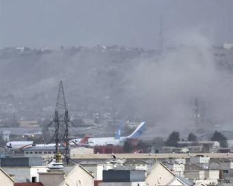 काबुल एयरपोर्ट पर जबरदस्त धमाका